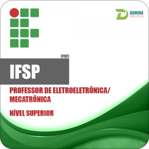 Apostila IFSP 2018 Professor de Eletroeletrônica Mecatrônica