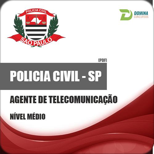 Apostila Polícia Civil PC SP Agente de Telecomunicação