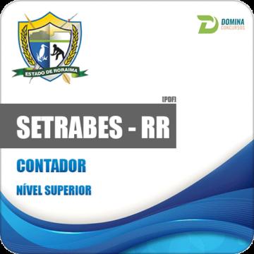 Apostila Concurso SETRABES RR 2018 Contador