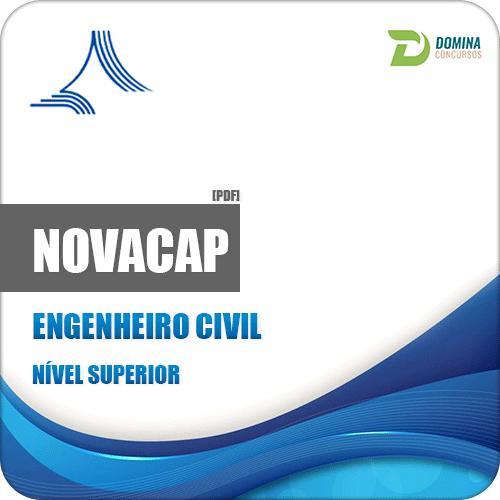 Apostila Concurso NOVACAP DF 2018 Engenheiro Civil