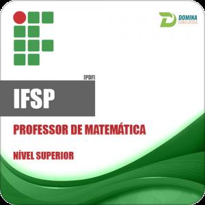 Apostila Instituto Federal IFSP 2018 Professor de Matemática