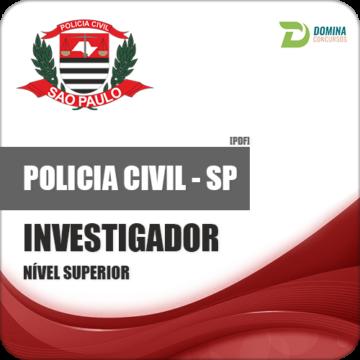 Apostila Polícia Civil PC SP 2018 Investigador