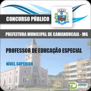 Apostila Camanducaia MG 2018 Professor Educação Especial