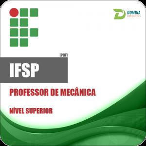 Apostila Instituto Federal IFSP 2018 Professor de Mecânica