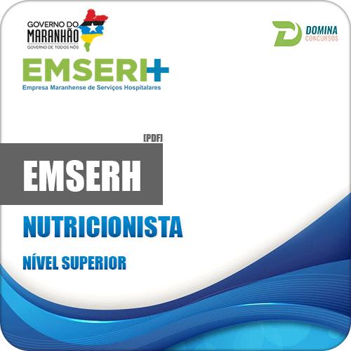 Apostila Concurso EMSERH MA 2018 Nutricionista