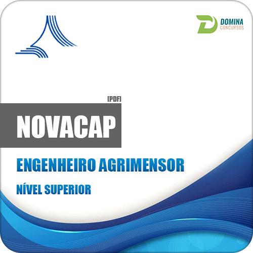 Apostila Concurso NOVACAP DF 2018 Engenheiro Agrimensor