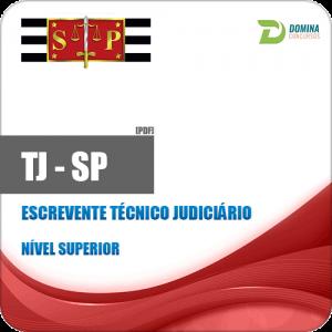 Apostila Tribunal de Justiça TJ SP 2018 Escrevente Técnico Judiciário