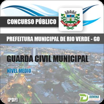 Apostila Pref Rio Verde GO 2018 Guarda Civil Municipal