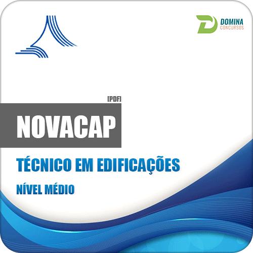 Apostila Concurso NOVACAP DF 2018 Técnico em Edificações