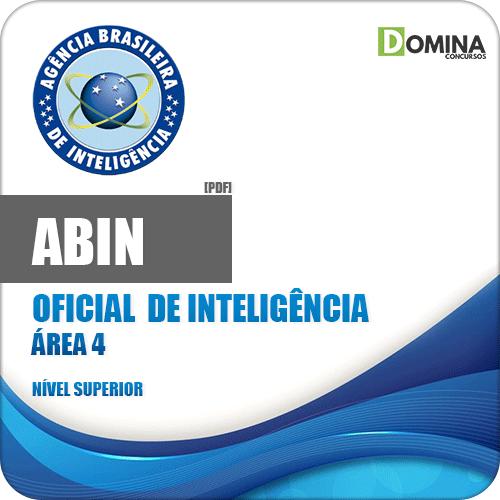 Apostila Concurso ABIN 2018 Oficial de Inteligência Área 4