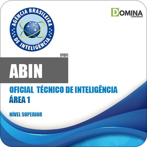 Apostila Concurso ABIN 2018 Oficial Técnico de Inteligência Área 1