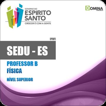 Apostila SEDU ES 2018 Professor B Física