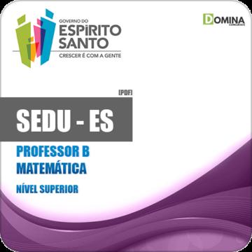 Apostila SEDU ES 2018 Professor B Matemática
