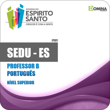 Apostila SEDU ES 2018 Professor B Português
