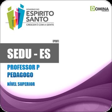 Apostila SEDU ES 2018 Professor P Pedagogo