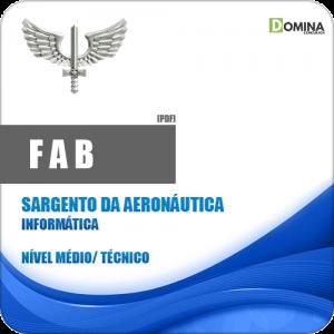 Apostila FAB 2018 Sargento da Aeronáutica Informática
