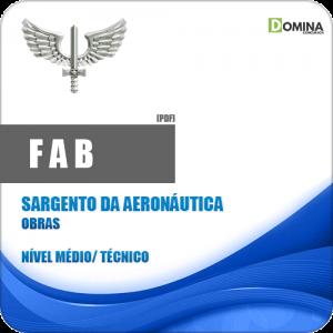 Apostila FAB 2018 Sargento da Aeronáutica ObrasApostila FAB 2018 Sargento da Aeronáutica Obras