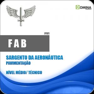 Apostila FAB 2018 Sargento da Aeronáutica Pavimentação