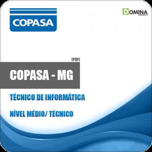 Apostila COPASA MG 2018 Técnico de Informática