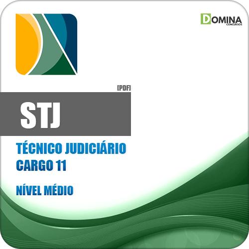Apostila STJ 2018 Técnico Judiciário Técnico em Enfermagem