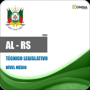 Apostila AL RS 2018 Técnico Legislativo