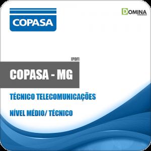 Apostila COPASA MG 2018 Técnico Telecomunicações