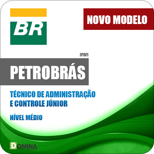 Apostila Petrobrás 2018 Técnico de Administração e Controle Júnior