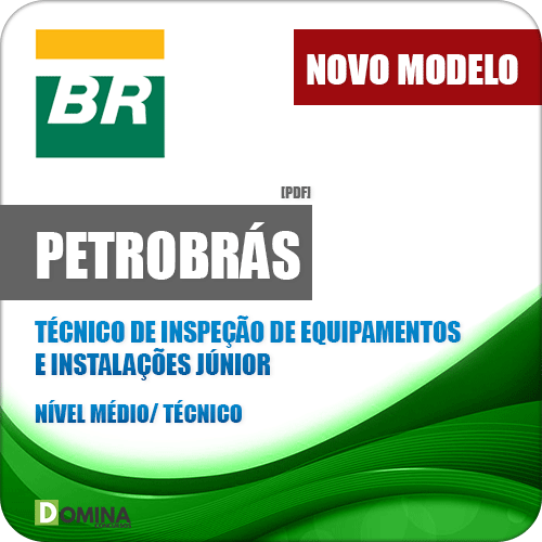 Apostila Petrobrás 2018 Tec Inspeção de Equipamentos e Instalações Jr