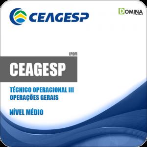 Apostila CEAGESP 2018 Técnico Operacional III Operações Gerais