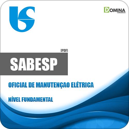 Apostila SABESP 2018 Oficial de Manutenção Elétrica