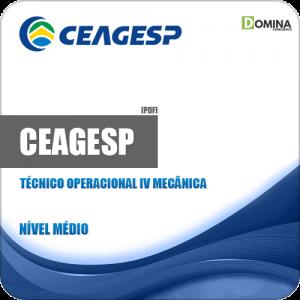 Apostila CEAGESP 2018 Técnico Operacional IV Mecânica