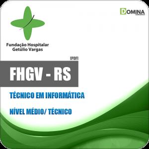 Apostila FHGV RS 2018 Técnico em Informática