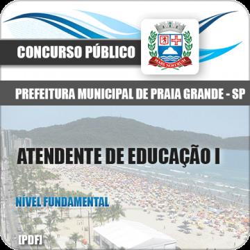 Apostila Pref Praia Grande 2018 Atendente de Educação I