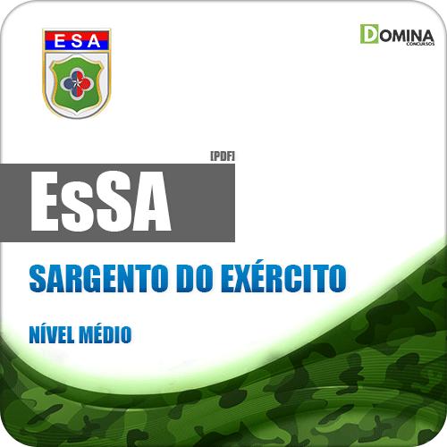Apostila EsSA 2018 Sargento do Exército