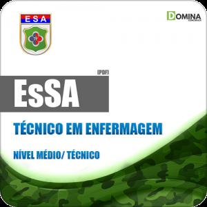 Apostila EsSA 2018 Técnico em Enfermagem