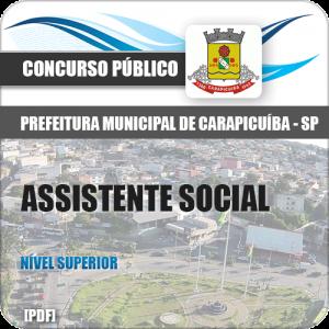 Apostila Prefeitura de Carapicuíba 2018 Assistente Social