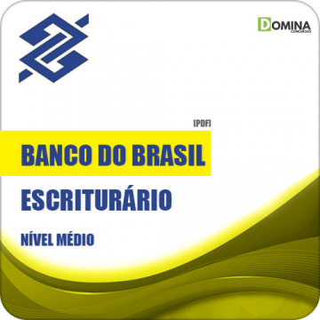 Apostila Banco do Brasil 2018 Escriturário