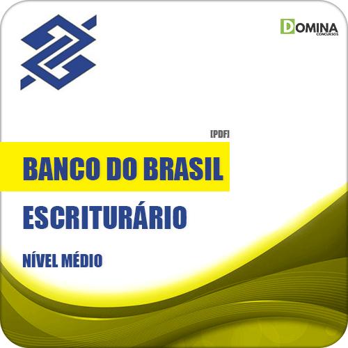 apostila banco do brasil escriturrio