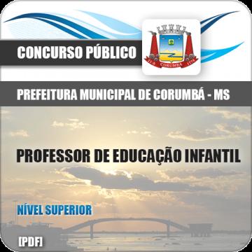 Apostila Pref Corumbá 2018 Professor de Educação Infantil