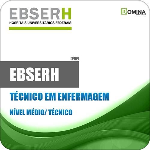 Apostila EBSERH 2018 Técnico em Enfermagem