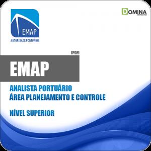 Apostila EMAP 2018 Analista Portuário Planejamento e Controle