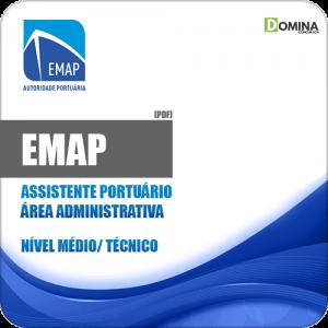 Apostila EMAP 2018 Assistente Portuário Área Administrativa