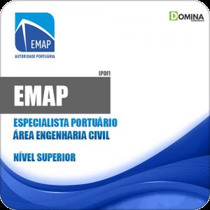 Apostila EMAP 2018 Especialista Portuário Engenharia Civil