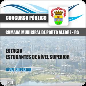 Apostila Câmara Porto Alegre 2018 Estágio Nível Superior