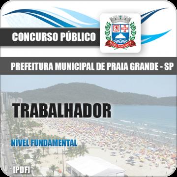 Apostila Pref Praia Grande 2018 Trabalhador