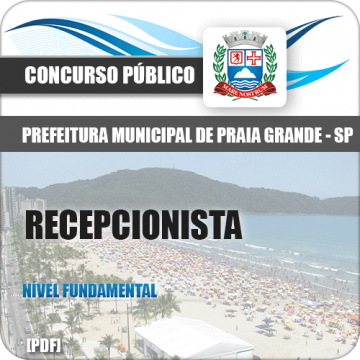 Apostila Pref Praia Grande 2018 Recepcionista