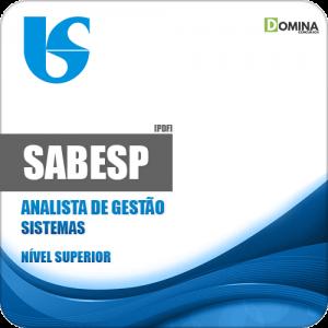 Apostila SABESP 2018 Analista de Gestão Sistemas