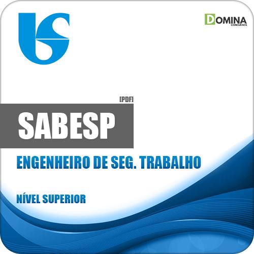 Apostila SABESP 2018 Engenheiro de Segurança do Trabalho