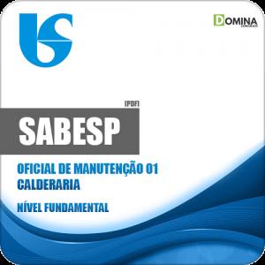 Apostila SABESP 2018 Oficial de Manutenção 01 Calderaria
