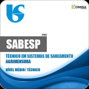 Apostila SABESP 2018 Técnico em Sistemas de Saneamento Agrimensura